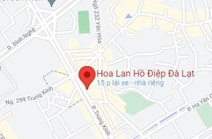 bản đồ 188 Trung Kính Lan Ho Diep